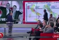 La nostra proposta di riforma del neoregionalismo presentato dal presidente Conti della società geografica italiana ad Agora' su RAI 3.