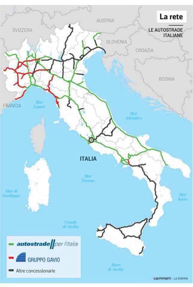 Rete Autostradale Italiana Cartina.Pagliaro L Italia Non Finisce A Bari Ma Per La Rete Autostradale Si Movimento Regione Salento